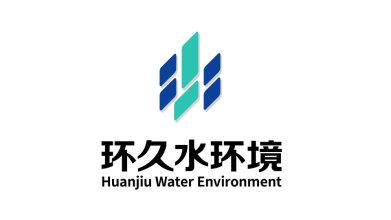 环久水环境公司LOGO设计