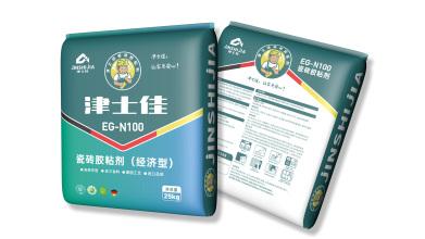 津士佳瓷磚粘接劑品牌包裝設計
