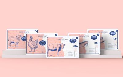 食尚加 | 肉類品牌包裝設計