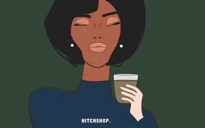 卡通形象咖啡食品包装