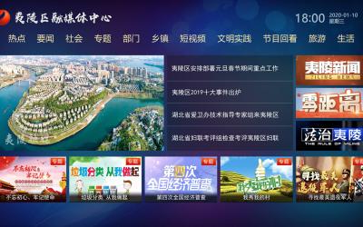 融媒体中心大屏UI