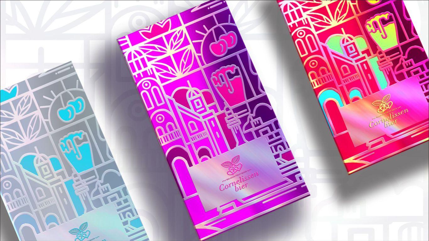 康尼森比利时进口啤酒礼盒包装设计中标图6