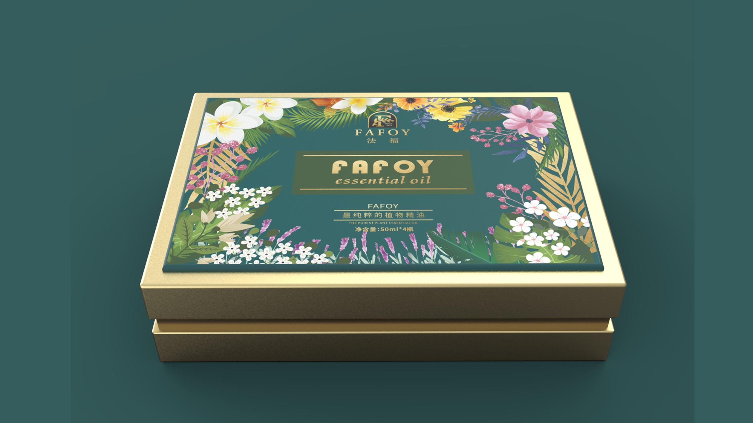法福日化品牌包装设计