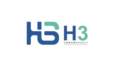 H3食品品牌LOGO设计