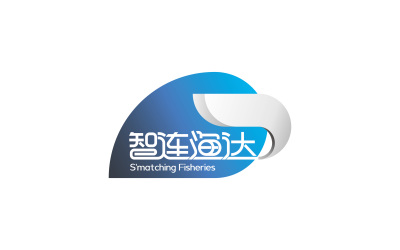 智连渔达云数据平台LOGO设计