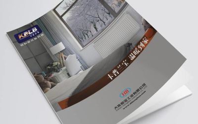 卡普兰宝板式散热器样本设计