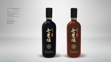 七星坛清香型白酒品牌包装设计