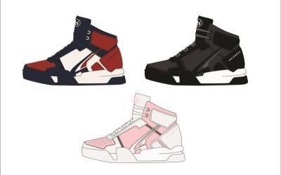 时尚篮球鞋设计
