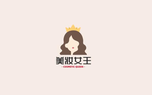 互联网美妆平台品牌logo设计