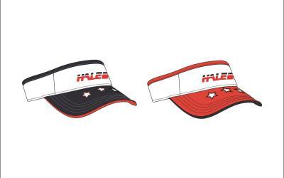 运动遮阳帽设计