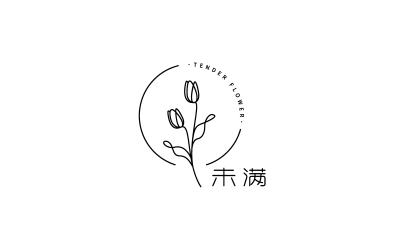 未满花店logo