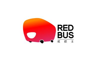 紅巴士箱包品牌logo設計