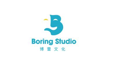 Boring Studio  博蕾文化娱乐传媒公司LOGO设计