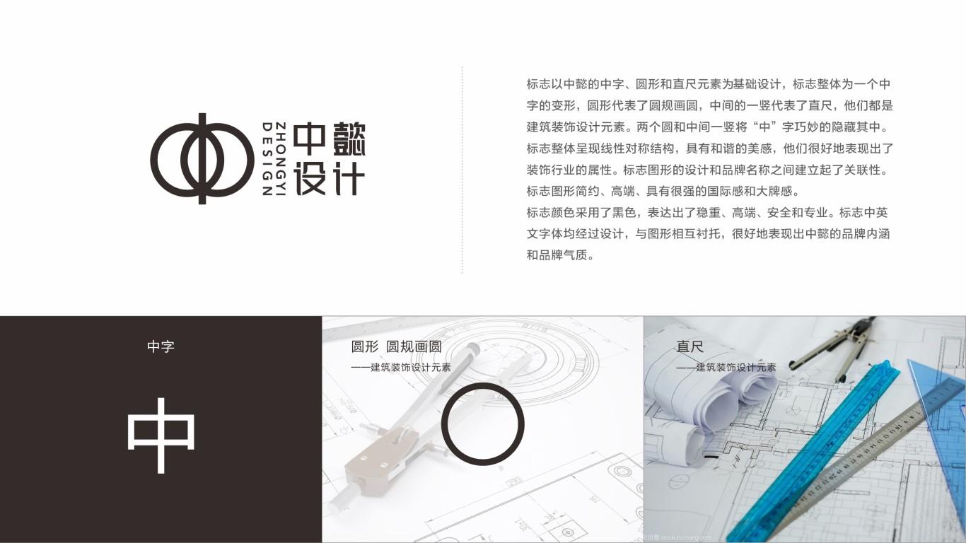中懿室内设计公司LOGO设计中标图0
