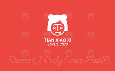 甜小兮-甜品logo