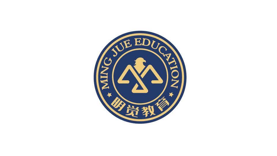 明觉教育机构LOGO设计