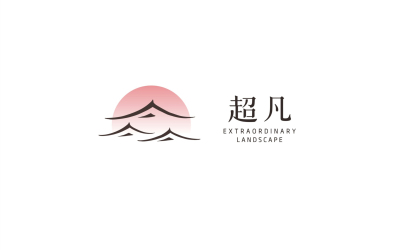 超凡装饰logo设计