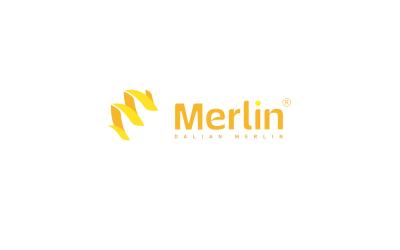 merlin科技logo设计