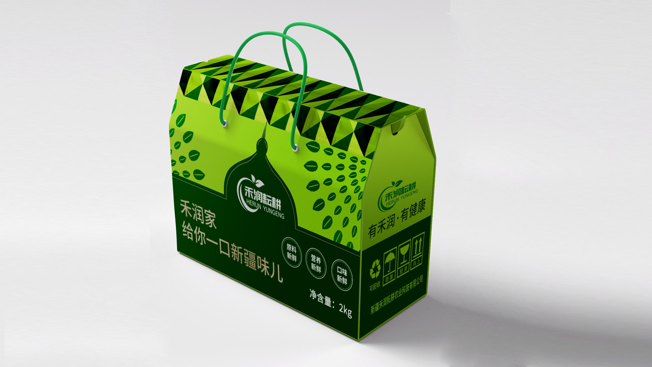 禾潤耘耕農業品牌包裝設計