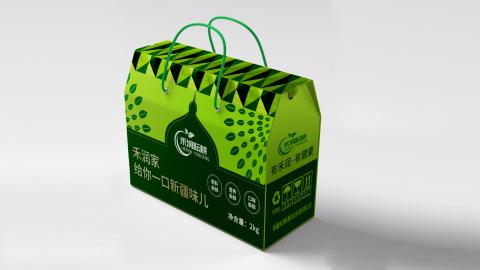 禾润耘耕农业品牌包装设计