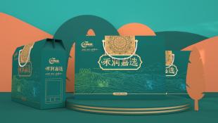 禾润耕耘农副食品品牌包装设计