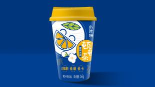 小叶妍顿顿茶饮料类包装设计