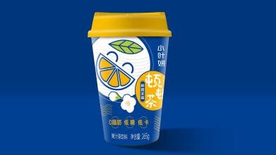 小叶妍顿顿茶饮料类包装亚博客服电话多少