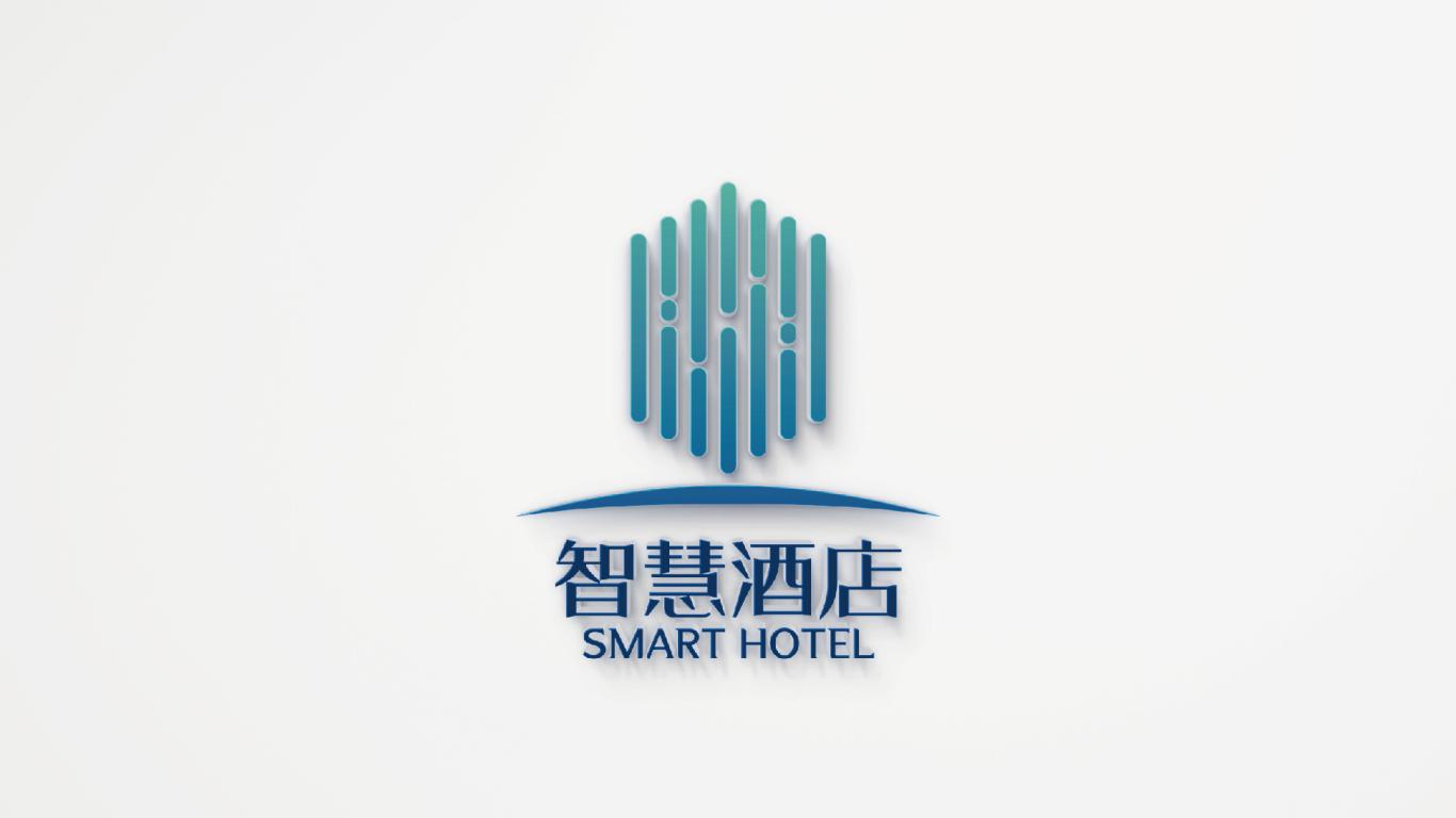 智慧酒店LOGO設計中標圖3