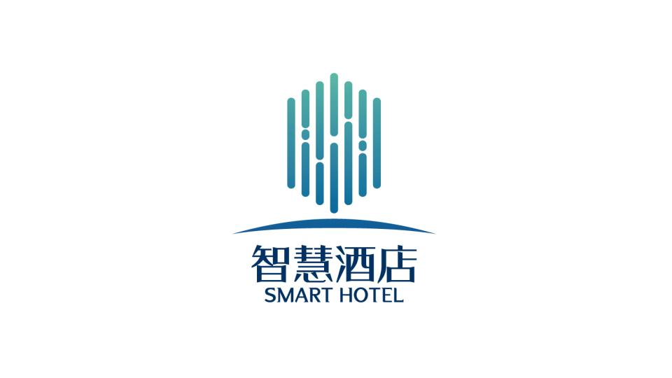 智慧酒店LOGO設計