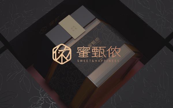蜜甄侬蜂蜜产品形象设计