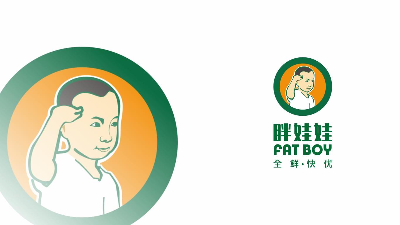 胖娃娃生鮮電商品牌LOGO設計中標圖6