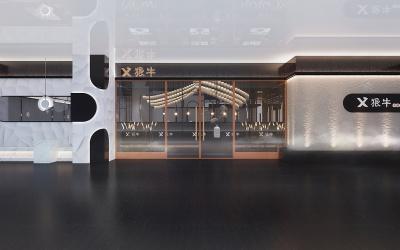狠牛餐饮商业空间设计