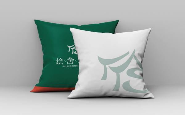 绘舍装饰品牌LOGO设计
