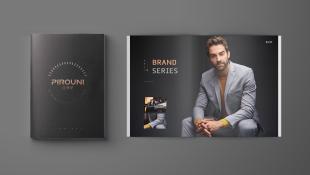 比羅尼男裝品牌畫冊設計
