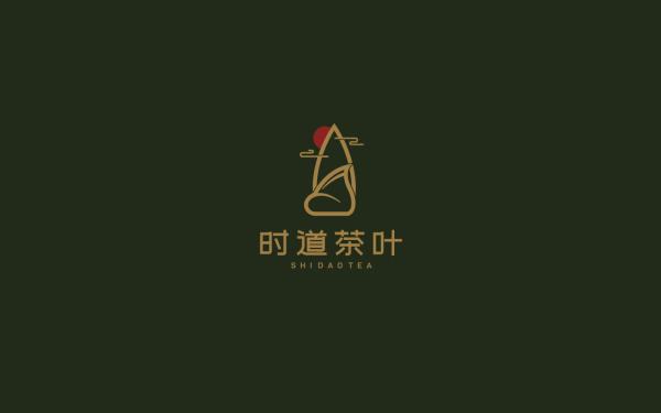 时道茶叶品牌LOGO设计