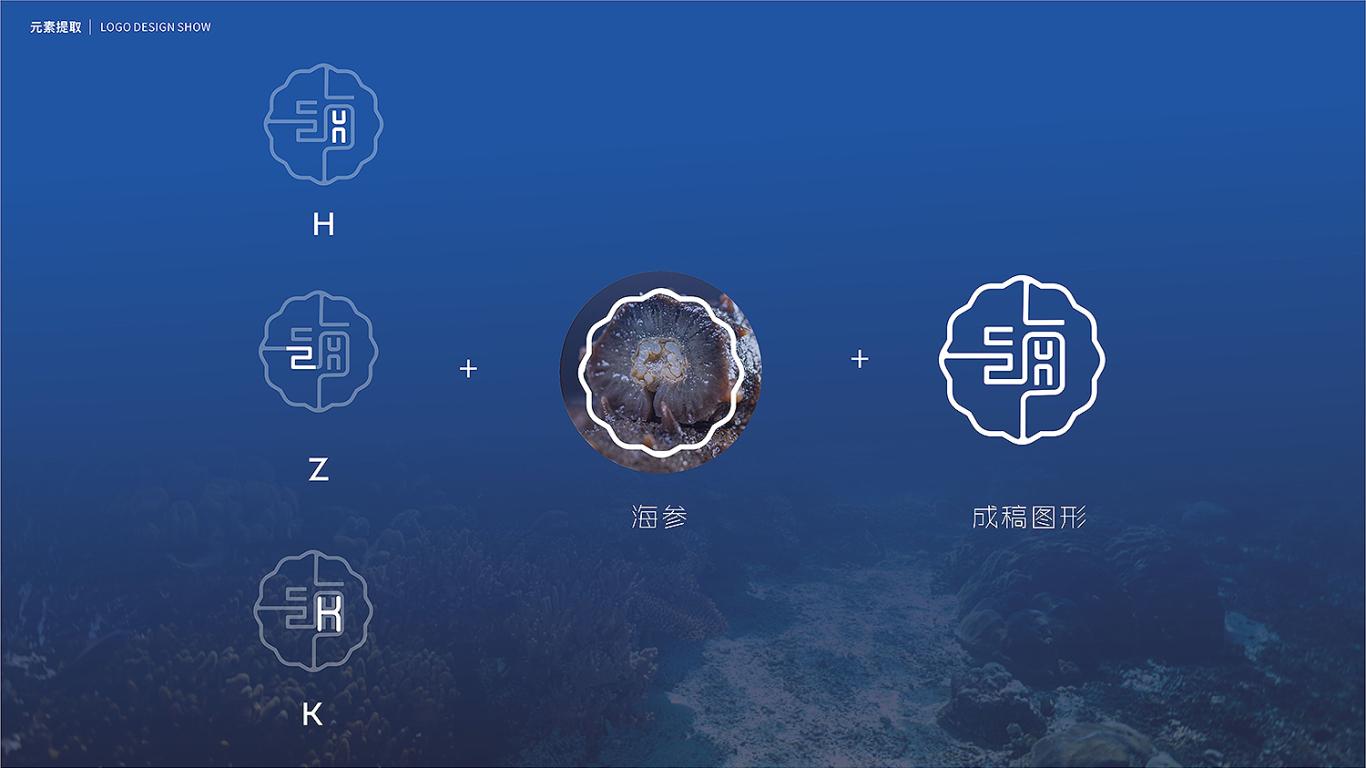 海郅康高端海參品牌LOGO設計中標圖5