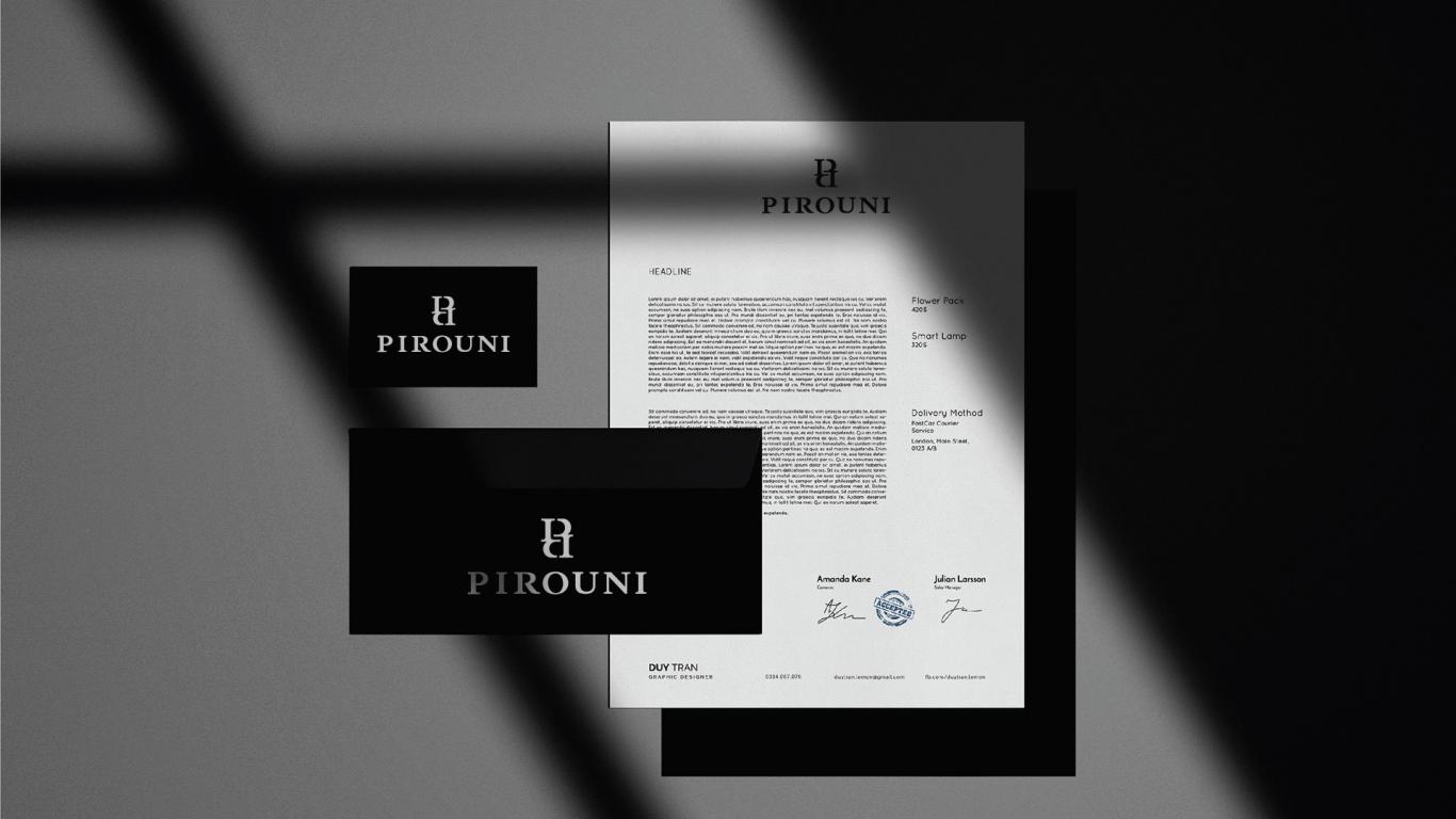 比罗尼男装品牌LOGO设计中标图5