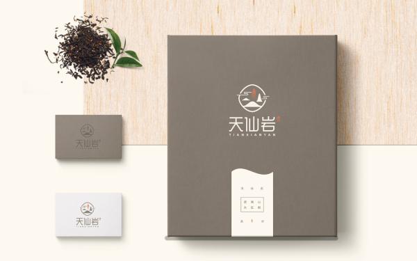天仙岩茶叶品牌LOGO设计