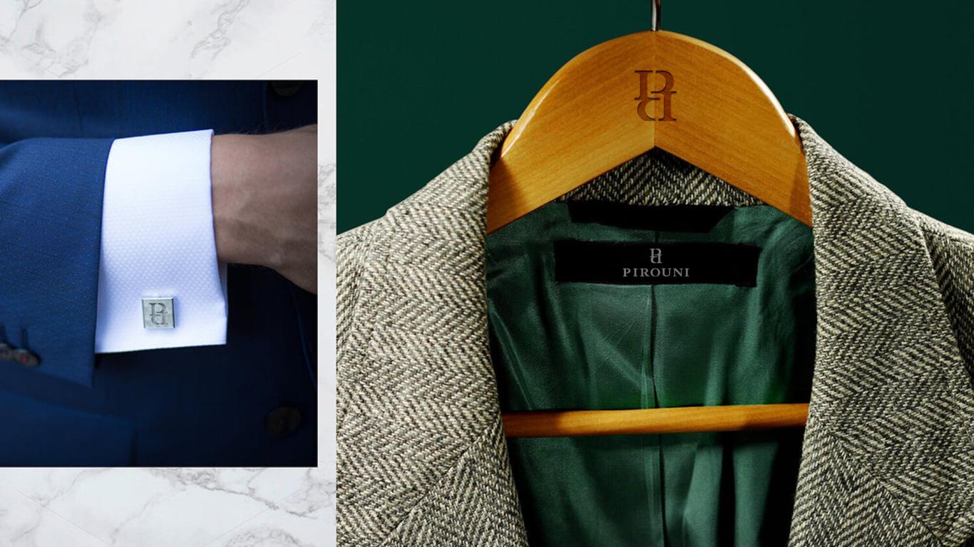 比罗尼男装品牌LOGO设计中标图7