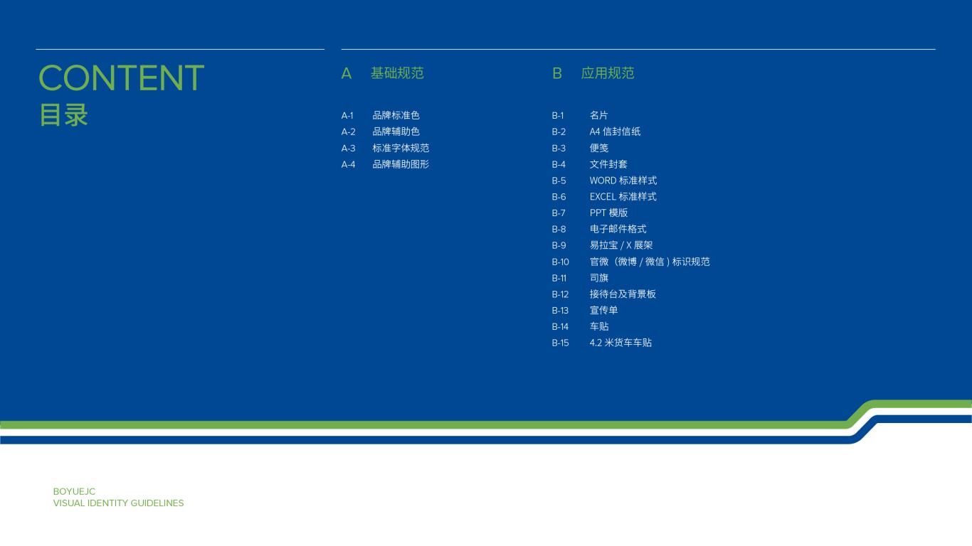 博越锦程物流类VI设计中标图1