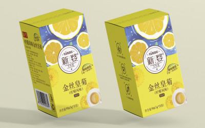 金丝黄菊包装设计