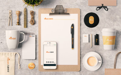 天橙教育品牌设计