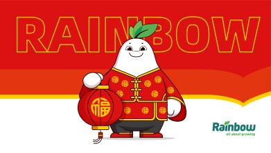 Rainbow化工類吉祥物延展設計