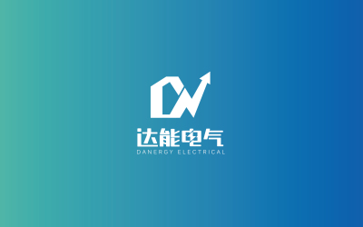物联网电气公司logo案例