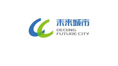 德清未来城市科技类品牌LOGO设计