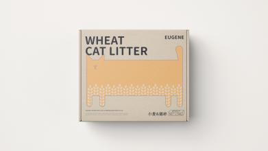 尤金Eugene猫砂包装延展设计