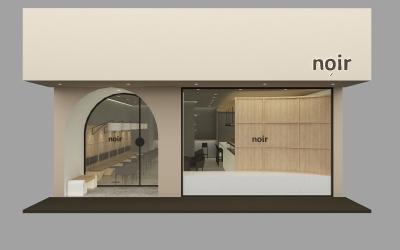 noir咖啡店空间设计