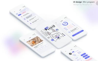 「小程序UI设计」布多练口语英...
