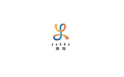 雅咖紡織布料LOGO設計