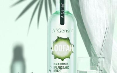 丝瓜原液薏仁水产品包装设计